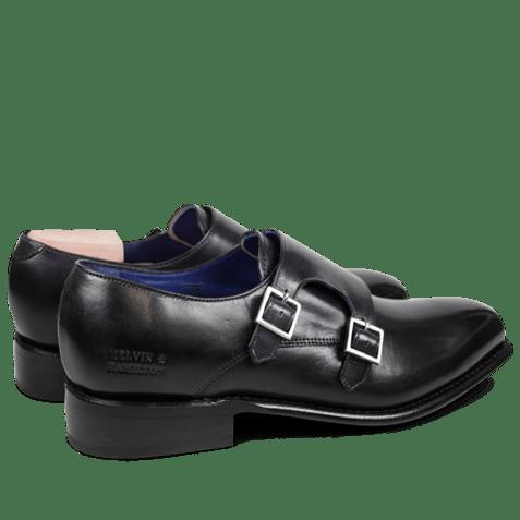 Monks Charles 9 Crust Black LS