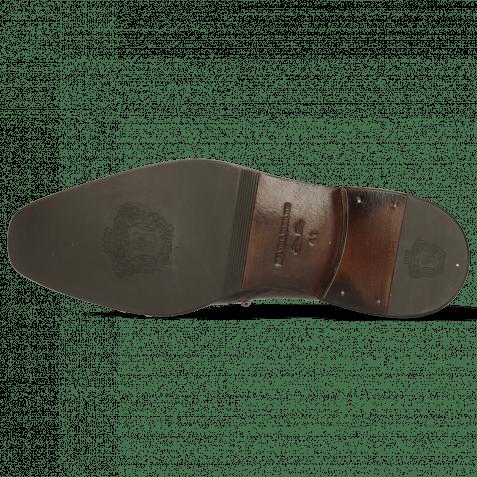 Derby shoes Jeff 14 Vegas Dark Brown Mogano Vegas Wood