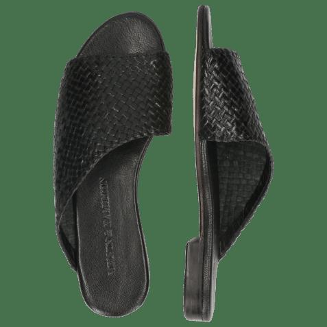 Mules Hanna 40 Woven Black