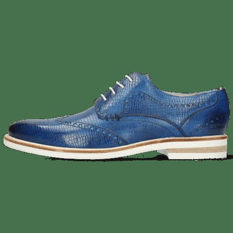 Derby shoes Scott 2 Vegas Skink Mid Blue