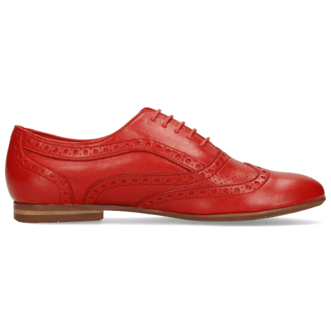 Oxford shoes Sonia 1 Nappa Perfo Red