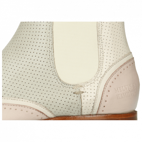 Ankle boots Sally 19 Nappa Glove Pink Salt Cream Perfo Tropical Sea