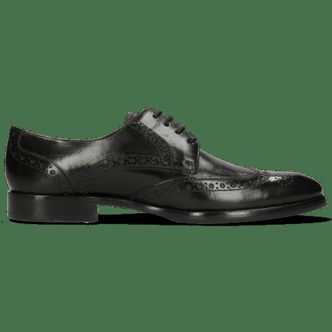 Derby shoes Kane 5 Black Lining Rich Tan HRS