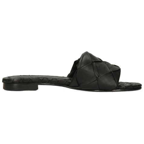 Mules Hanna 67 Nappa Black Lining