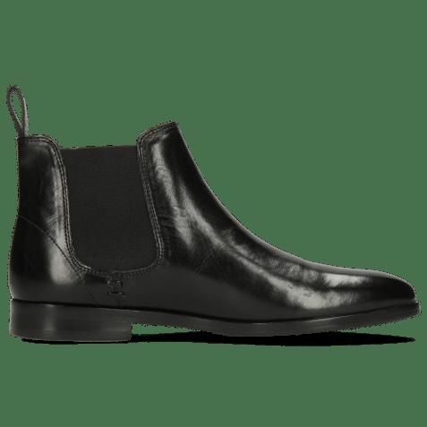 Ankle boots Susan 10 Black Elastic Black Flex