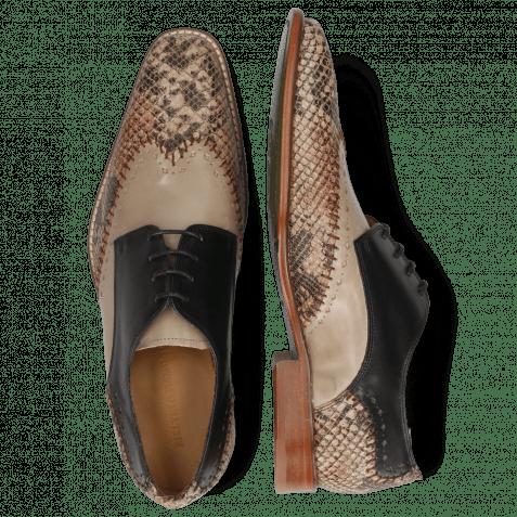 Derby shoes Clark 1 Snake Digital Black