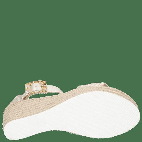 Sandals Abby 2 Cherso Bisque Raffia Rosa