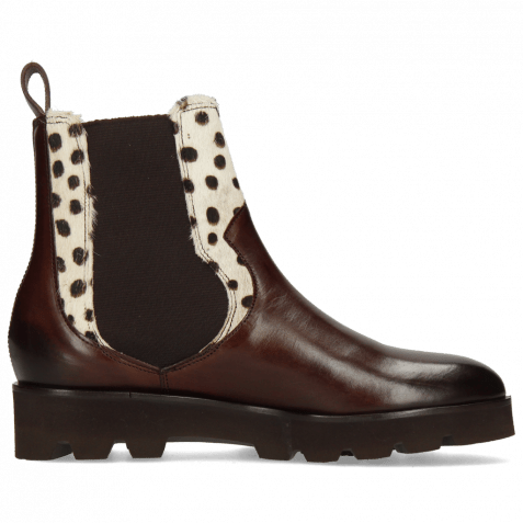 Ankle boots Sally 113 Mogano Hairon Wildcat