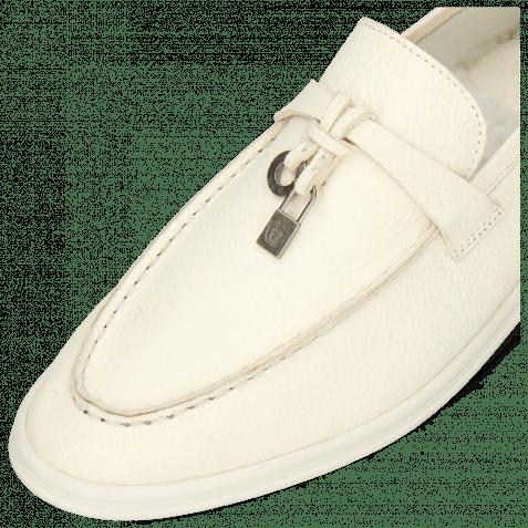 Loafers Adley 3 Prato White Accessory Gunmetal