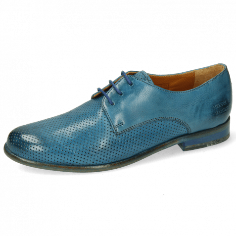 Derby shoes Selina 23 Pavia Perfo Bluette