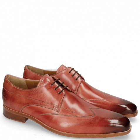 Derby shoes Lewis 9 Earthly Lining Rich Tan