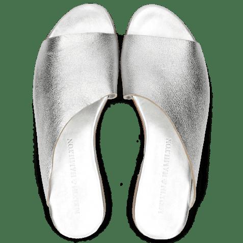 Mules Hanna 40 Silver