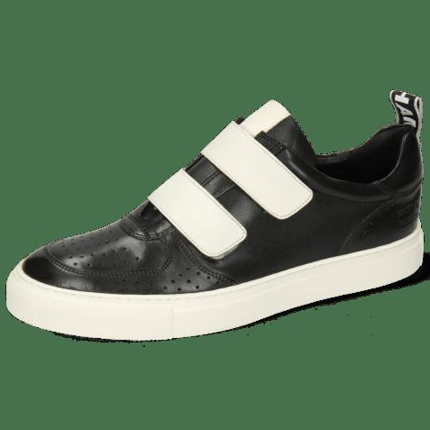 Sneakers Harvey 28 Black Edge Off White Strap