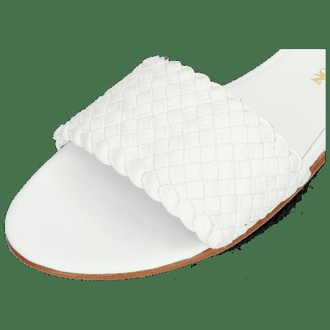Mules Hanna 26 Woven White LS