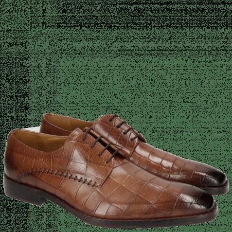 Derby shoes Clark 18 Turtle Dark Brown