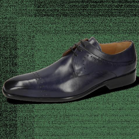 Derby shoes Ethan 14 Marine Lining Rich Tan