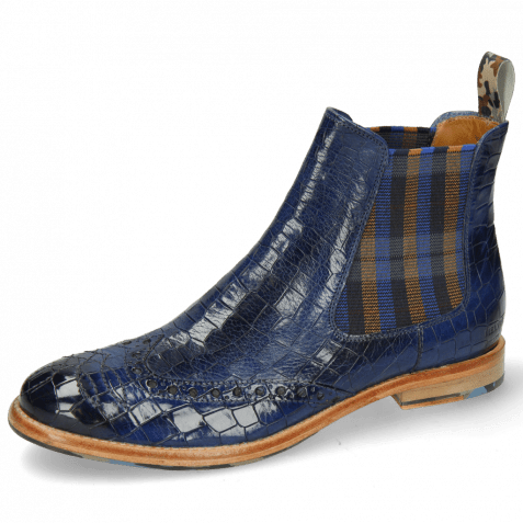 Ankle boots Amelie 77 Crock Electric Blue Loop Camo