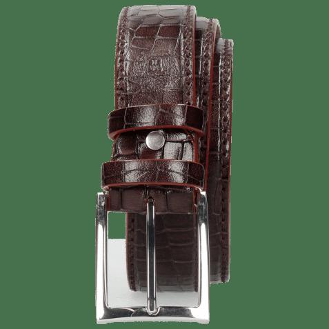 Belts Larry 1 Crock Deep Pink Classic Buckle