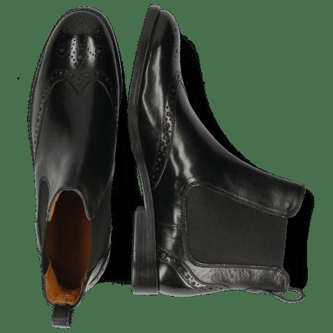 Ankle boots Amelie 5 Black Elastic Black Lining