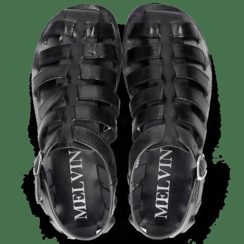 Sandals Sam 3 Navy Modica White