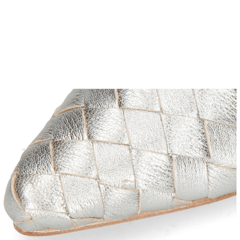 Mules Alexa 12 Woven Cherso Silver Mint