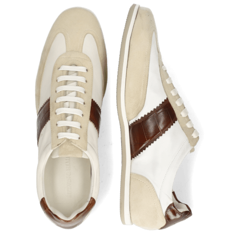 Sneakers Pharell 12 Suede Ivory Nappa White Turtle Mid Brown