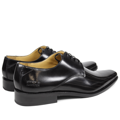 Derby shoes Frank 9 Brush Black LS