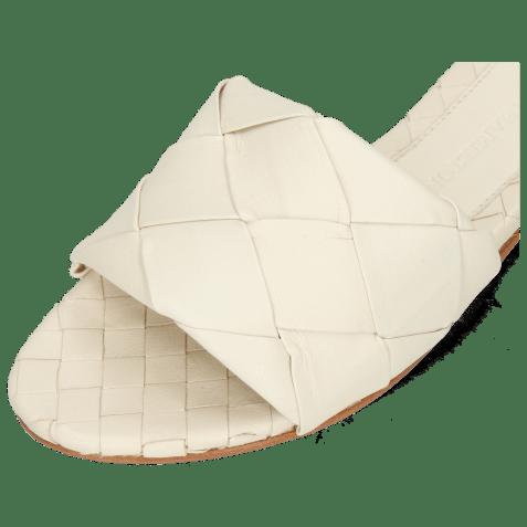 Mules Hanna 67 Nappa Off White Lining