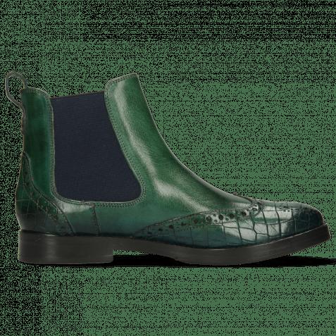 Ankle boots Amelie 5 Crock Pine Shade Bluette
