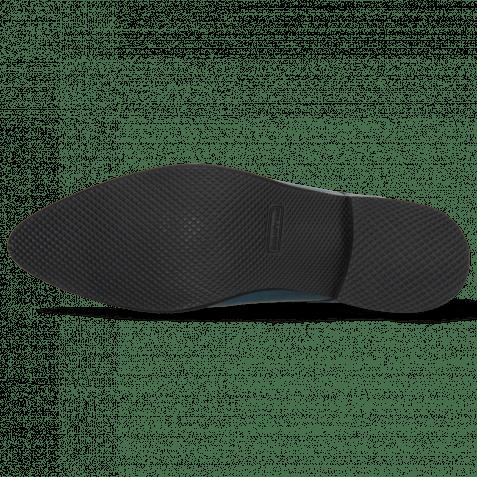 Derby shoes Toni 1 Baby Croco Mid Blue