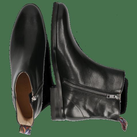 Ankle boots Susan 43 Rio Black Loop Peru Lining