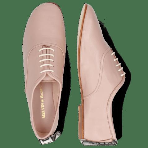 Oxford shoes Iris 13 Nappa Rose Strap M&H Flex