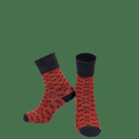 Socks Charlie 1 Crew Socks Red Navy