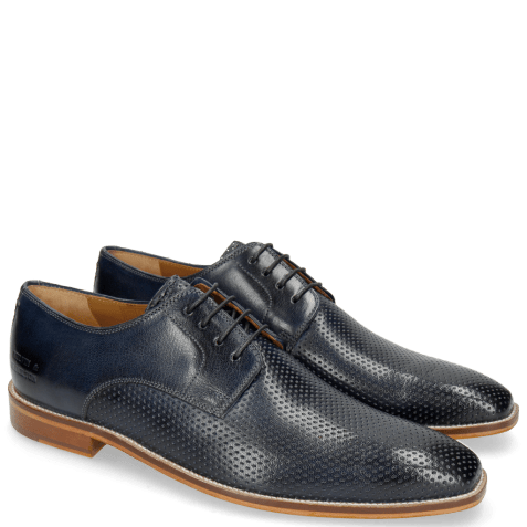 Derby shoes Alex 1 Venice Perfo Navy