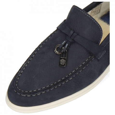 Loafers Adley 3 Como Navy Accessory Gunmetal