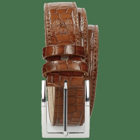Belts Larry 1 Crock Mid Brown Classic Buckle