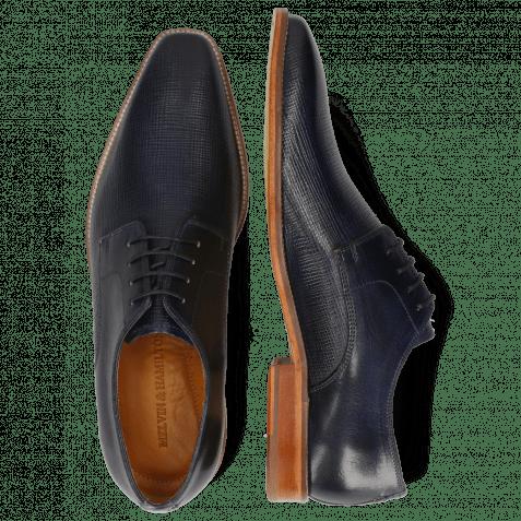 Derby shoes Alex 1 Venice Haina Navy