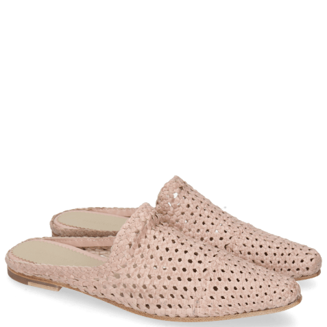 Mules Joolie 14 Woven Rose