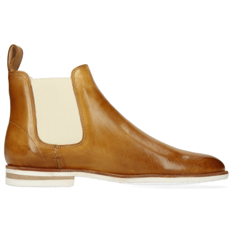 Ankle boots Susan 10 Vegas Sand Elastic Off White Modica