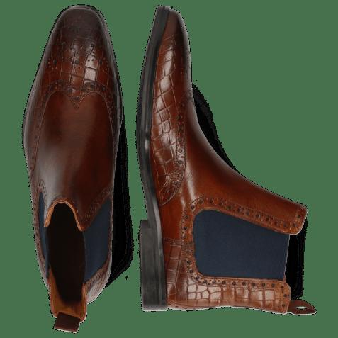 Ankle boots Greg 2 Venice Crock Wood Elastic Navy