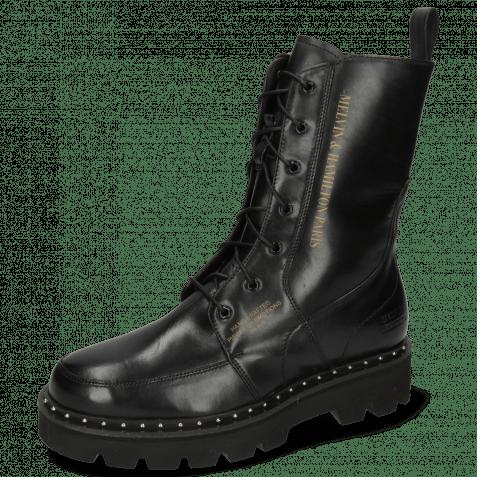 Boots Winslet 2R Black Rivet