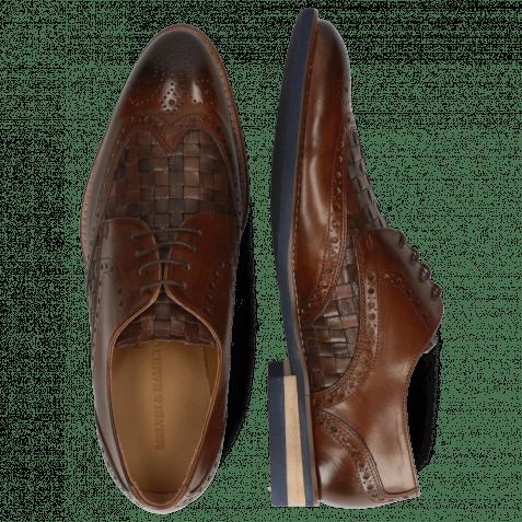 Derby shoes Kane 5 Dark Brown Mesh