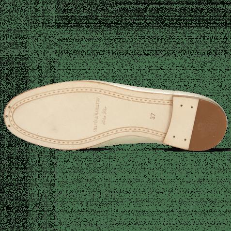 Loafers Scarlett 22 Idra Platino Trim Gold