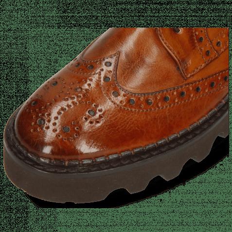 Derby shoes Jenny 6 Monza Tan