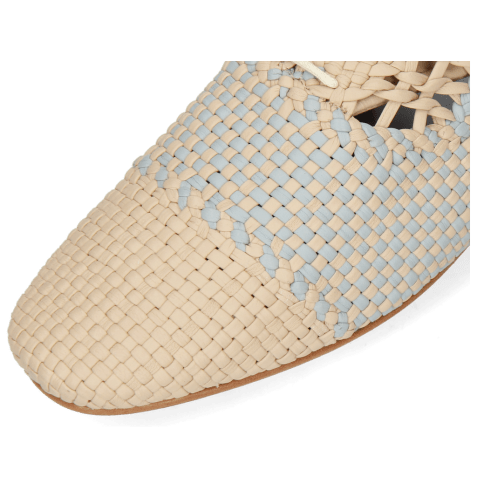 Oxford shoes Aviana 3 Woven Off White Wind