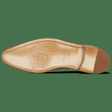 Oxford shoes Lance 64 Tan Washed Shade Dark Brown