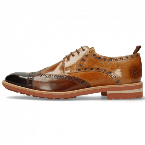 Derby shoes Eddy 48 Mogano Wood Sand