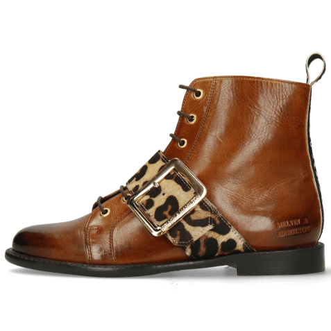 Ankle boots Selina 47 Wood Hairon Tanzania Wood Strap M&H