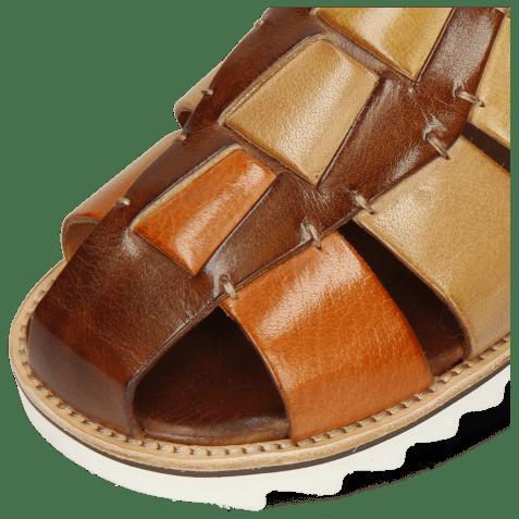 Sandals Sam 29 Classic Brown Arancio Sand Olivine Wood