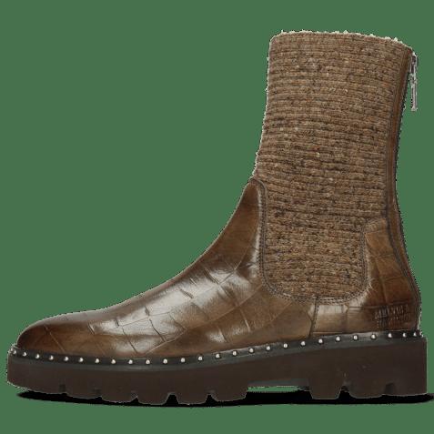 Ankle boots Susan 69 Turtle Taupe Textile Brina